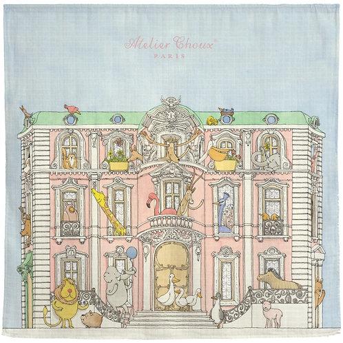 Atelier Choux Muslin Wrap Monceau Mansion