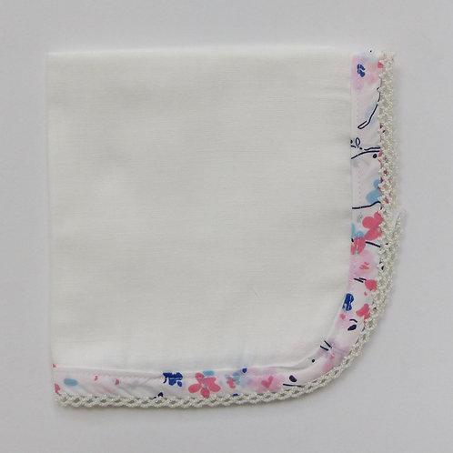 La Perouge Burp Cloth Pastel Floral