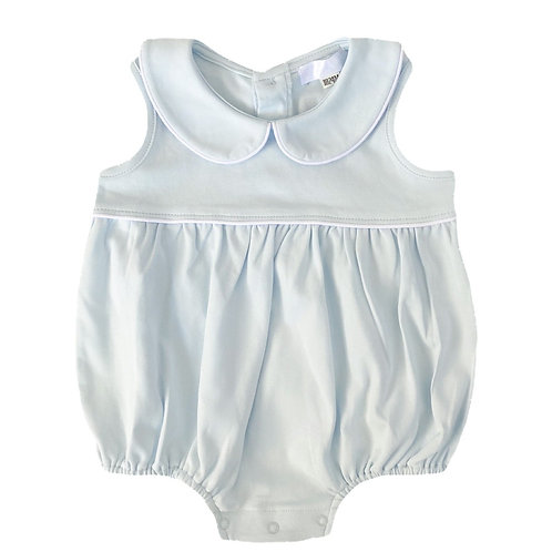 Light Blue Layette Babysuit   3-6m