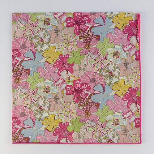 Cotton Liberty Scarf with Rolled Edge 58 x 58 cm | Collection 1
