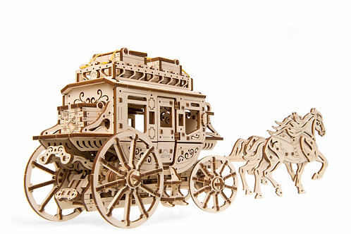 Ugears Mechanical Model | Stagecoach
