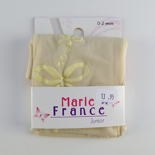 Marie France Haya Cream Tights