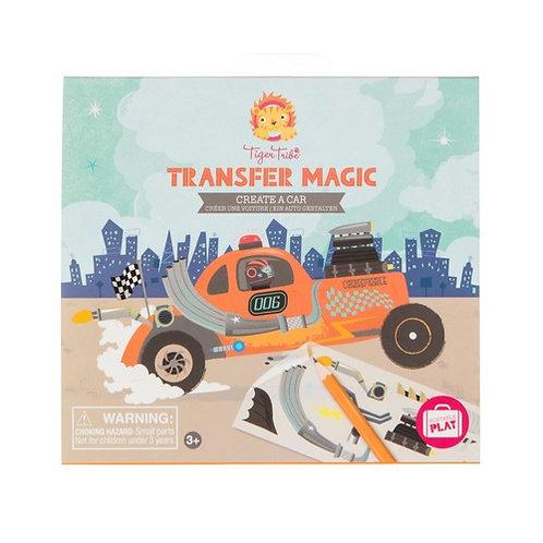 Tiger Tribe Transfer Magic - Create A Car