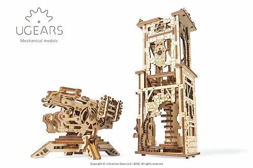 Ugears Mechanical Model | Archballista Tower