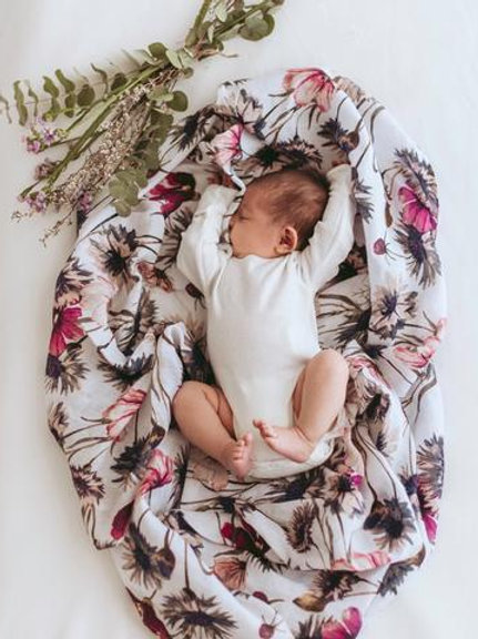 Pop Ya Tot Muslin Swaddle | All About Aster