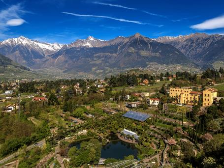 Merano, Bolzano, Castello Trauttsmansdorff 2 giorni