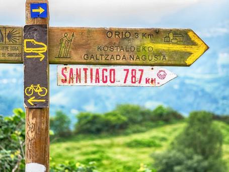 Il Cammino di Santiago, ultimi 100 km, 8 giorni in aereo