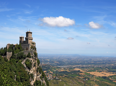San Leo, San Marino, Urbino e Gradara