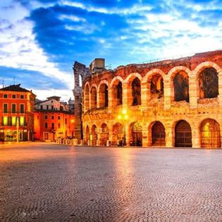 Verona, l'Arena, Casa di Giulietta e Padova