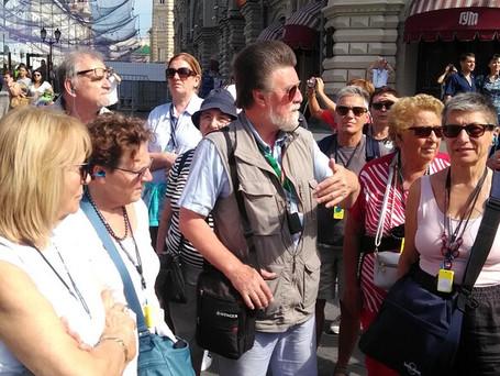 Russia, Mosca, Piazza del Cremlino e la metropolitana