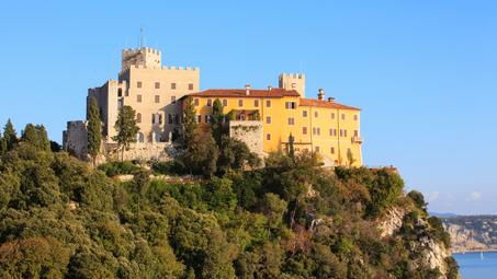 Trieste, Redipuglia, il Castello di Duino e di Miramare