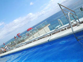 Hotel Top Pineda Palace & Spa, Costa Maresme, Spagna, fronte mare