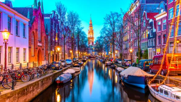 Gran Capodanno ad Amsterdam e crociera romantica