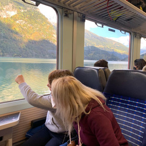 Trenino Rosso del Bernina, Saint Moritz, Tirano