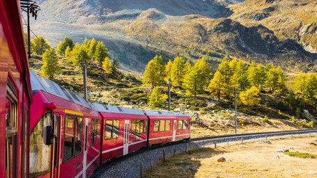Pic-Nic sul Trenino Rosso del Bernina