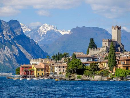 Lago di Garda e il Castello Scaligero di Malcesine
