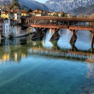 Marostica, Ponte degli Alpini, Bassano del Grappa