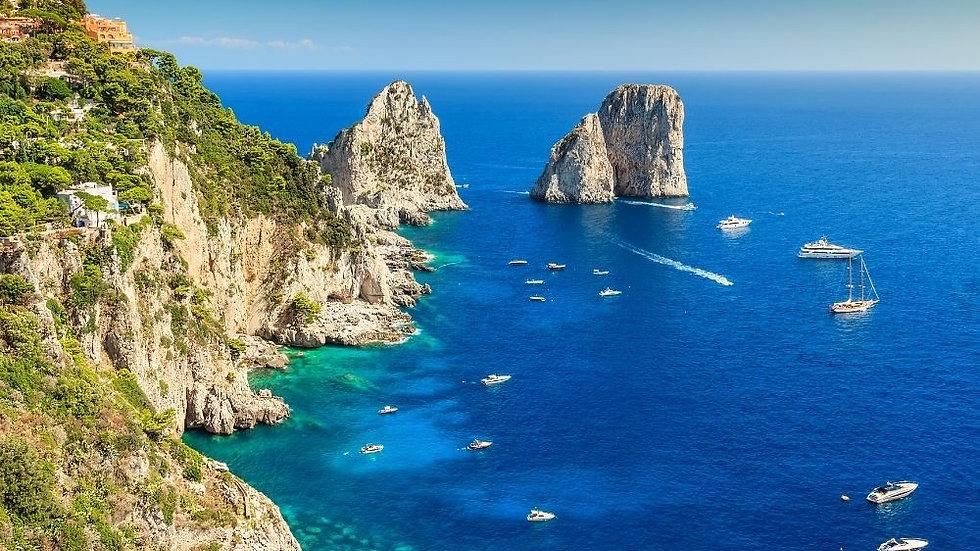 Capri e il Gran Tour della Campania