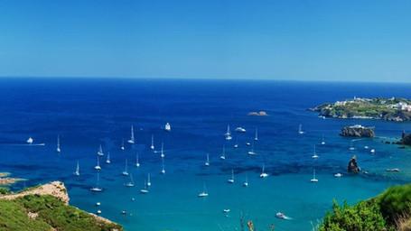 Isola di Ponza, Giardini di Ninfa e Riviera di Ulisse