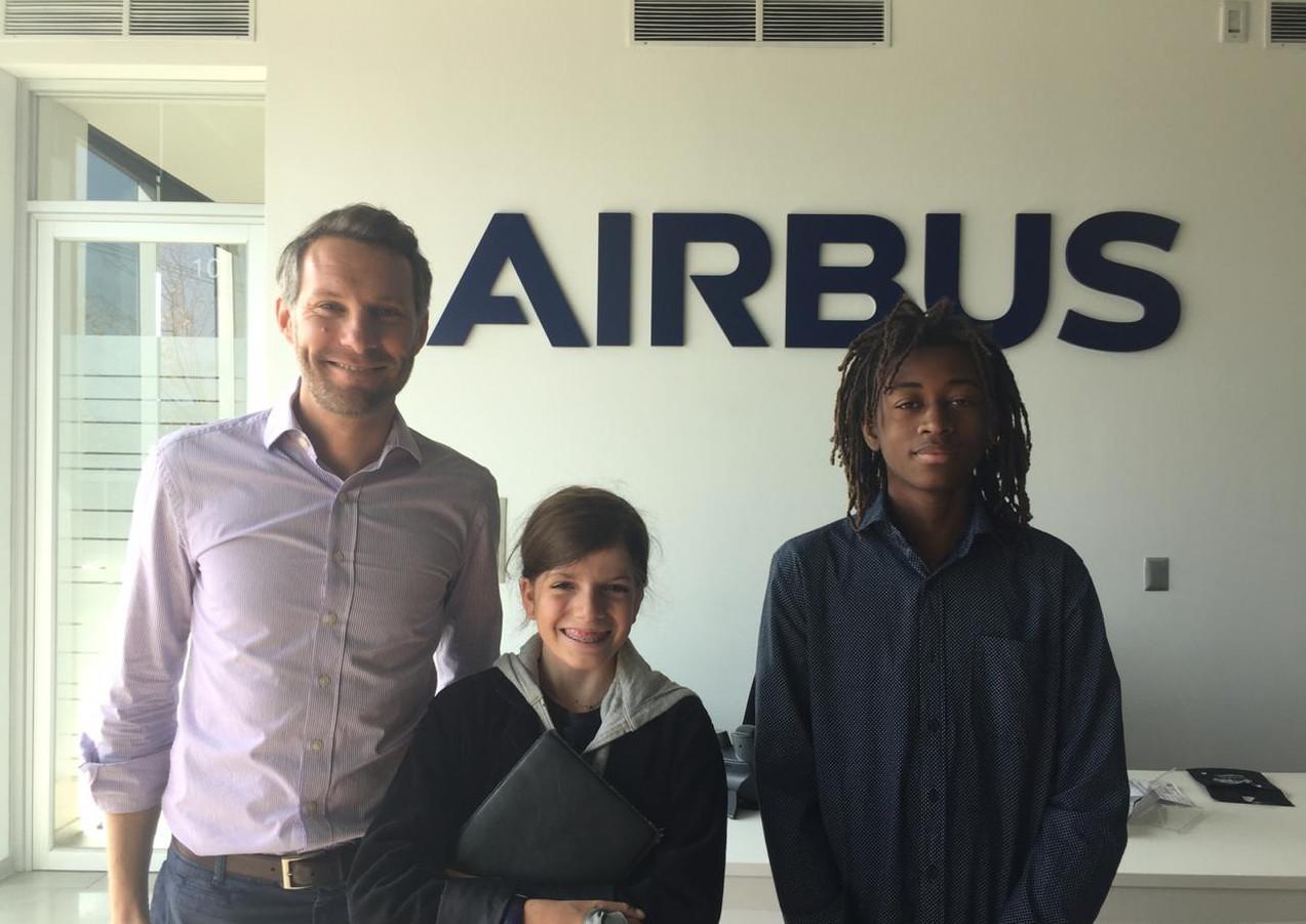 Homeschooler's Airbus Visit