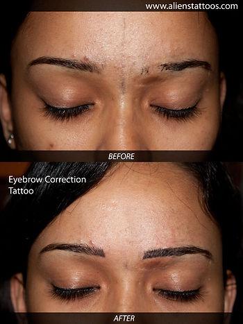 Eyebrow Correction Tattoo (Cosmetic Tattoo)