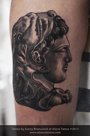 Alexander The Great Tattoo