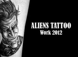 Aliens Tattoo Work Video 2012