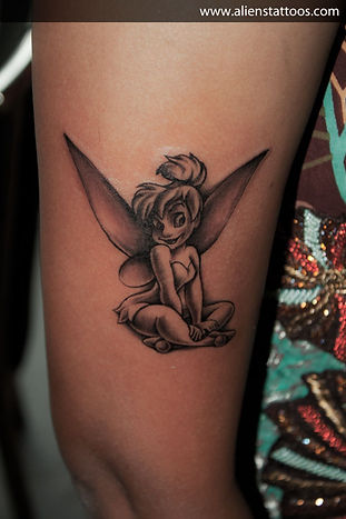 Tinkerbell Tattoo