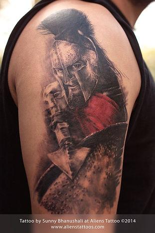 Leonidas Tattoo (300 Movie)
