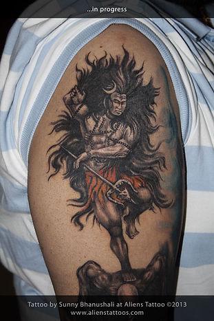 Cosmic Dance of Shiva Tattoo