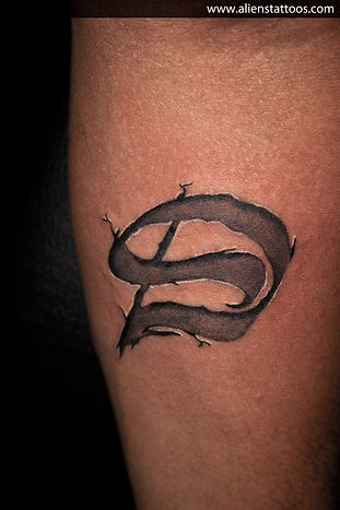 Ambigram Tattoo (D and S)