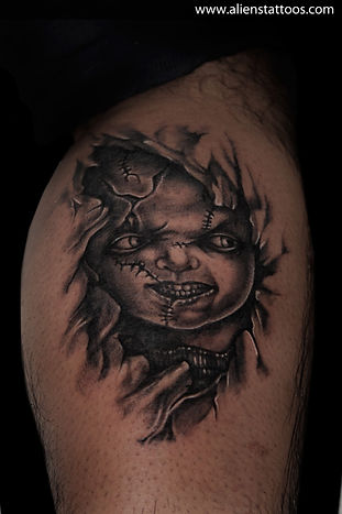 Chucky Tattoo (Child's Play)