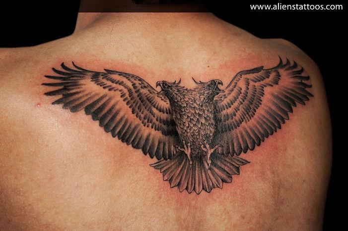 Two Headed Eagle Tattoo