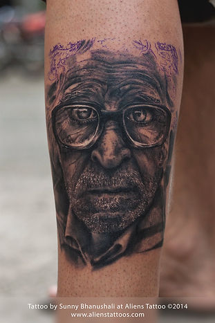 Hyper-realistic Portrait Tattoo [WORKSHOP]