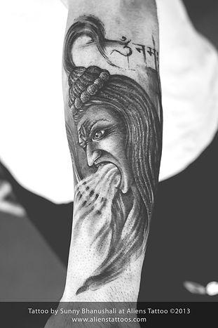 Rage of Shiva Tattoo