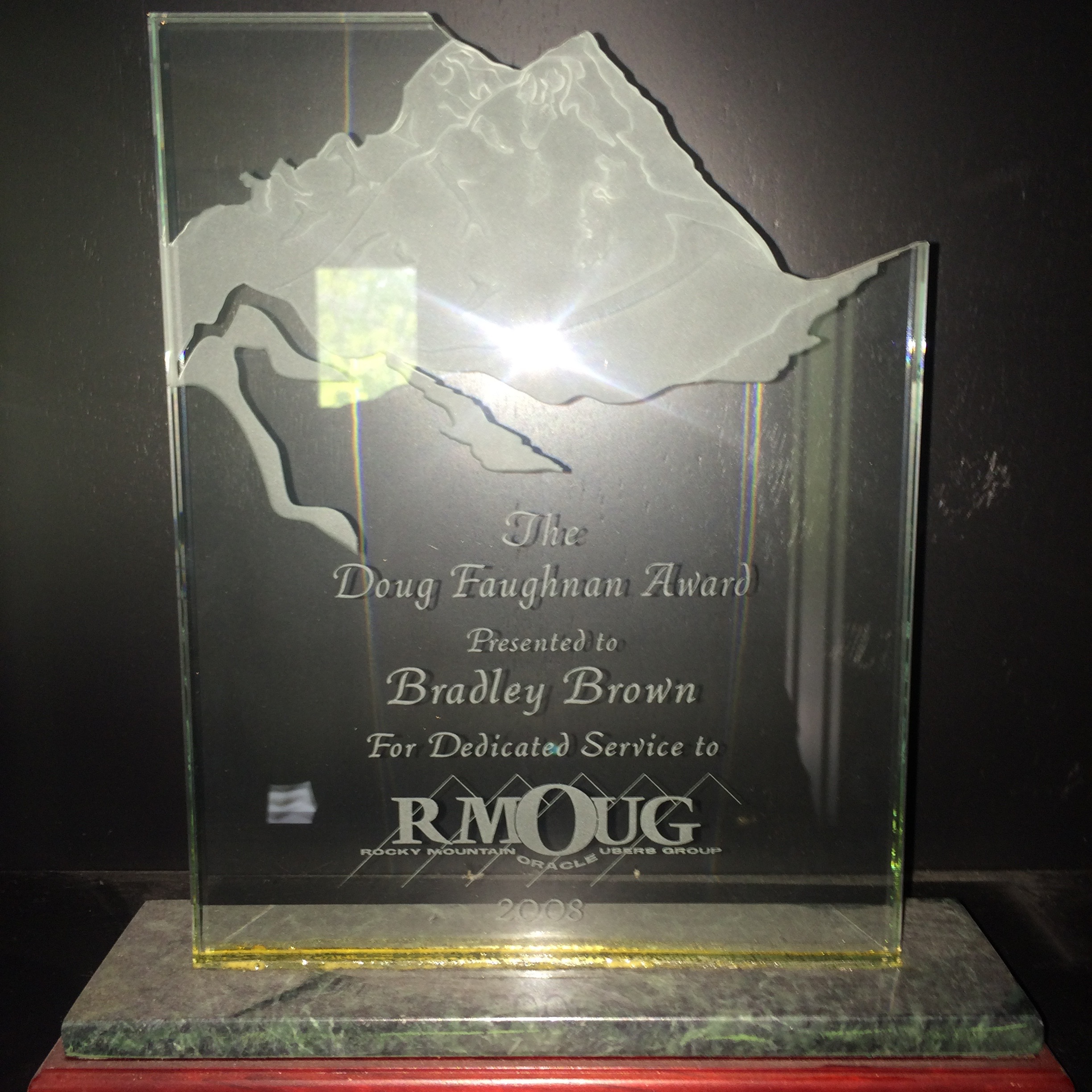 Lifetime Achievement for RMOUG