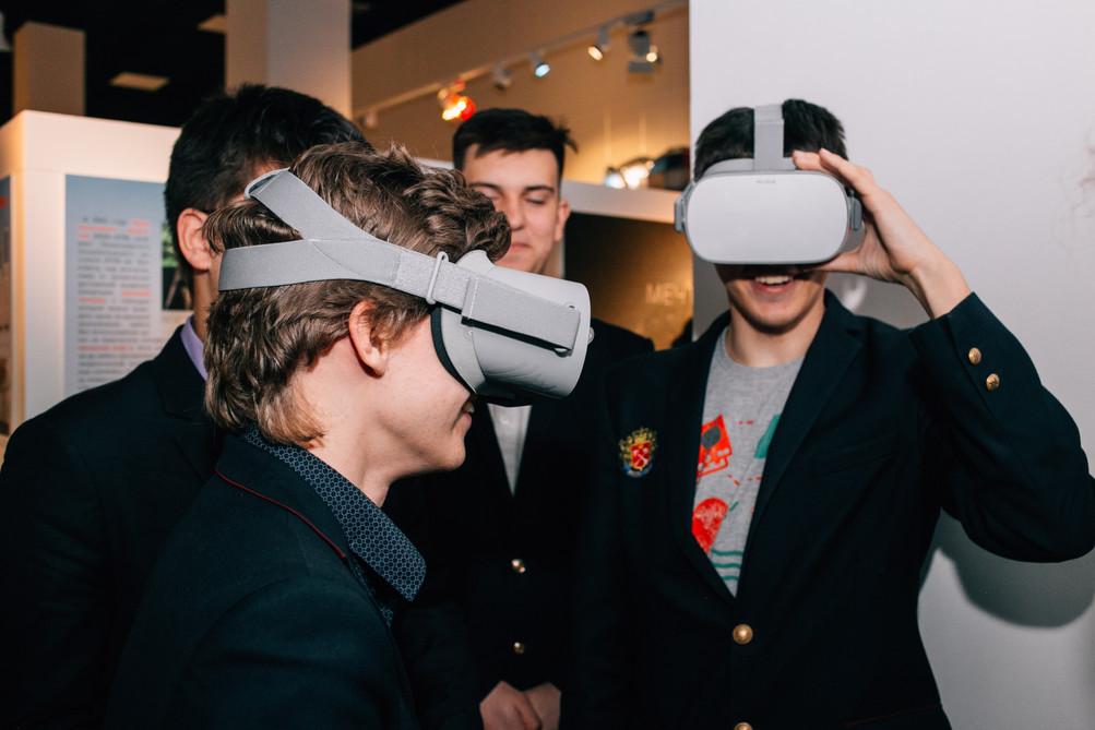 Интерактивная зона виртулальная реальнос