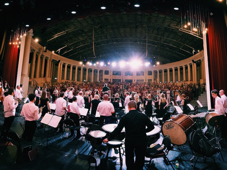 Гастроли оркестра в Сочи