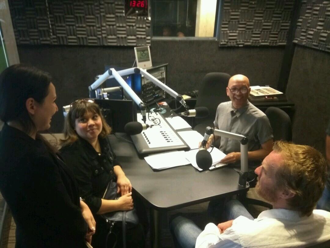 Запись интервью с Анной Маркаровой и Пав