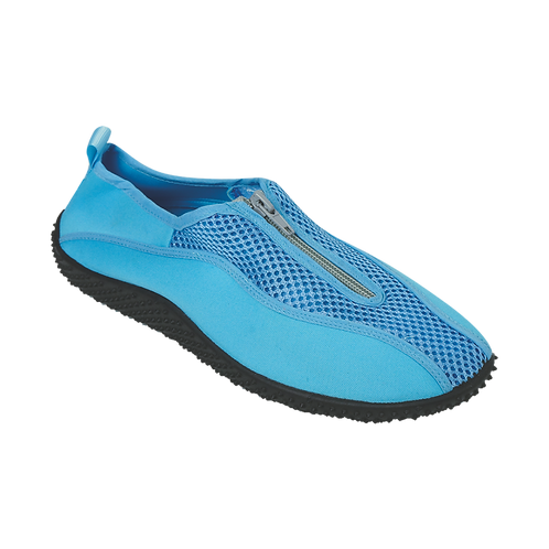 AQ08W | Zipper Fabric Aqua Shoes