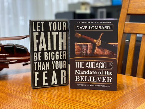 """""""The Audacious Mandate of The Believer"""" Book"""