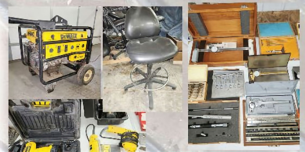 SWCC SURPLUS AND TOOL AUCTION