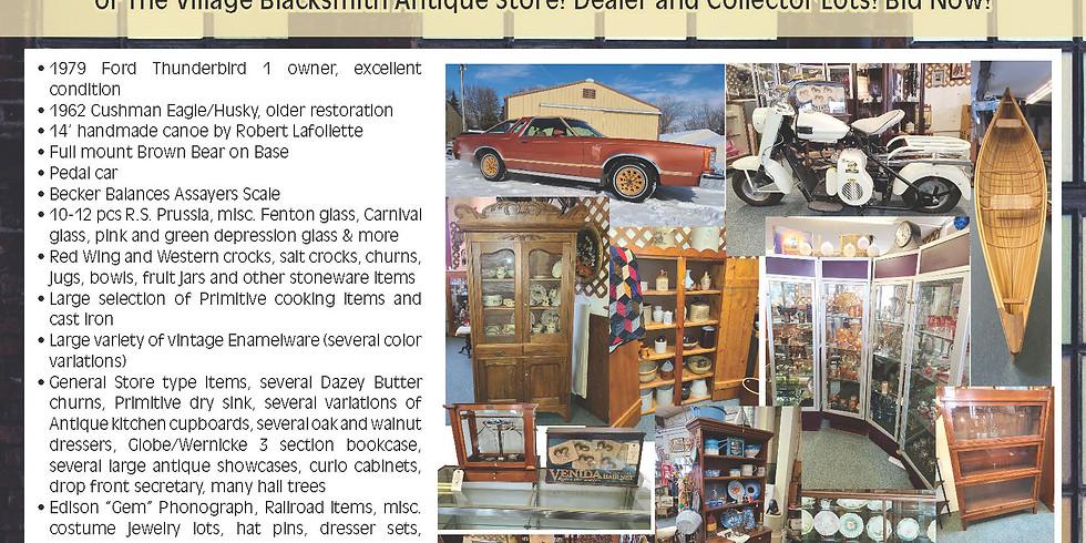 ELIMAR SUDMANN ESTATE / VILLAGE BLACKSMITH ANTIQUE MALL ONLINE AUCTION