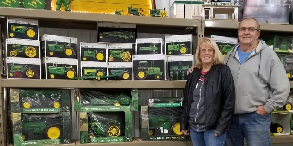 2 DAY - JOHN DEERE COLLECTOR TOY AUCTION STARTS AT 11:00 AM BOTH DAYS!