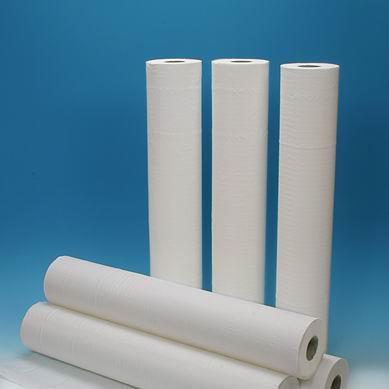 Lenzuolino in pura cellulosa 2 veli 50 mt x 60 cm