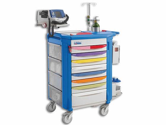 Carrello emergenza Pediatrico completo METRO