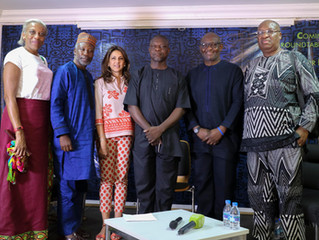 Arthouse Foundation Hosts Panel Discussion with Resident Artist Victor Ekpuk