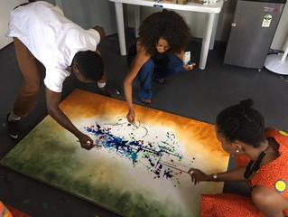 Oil Painting Workshop with Nengi Omuku