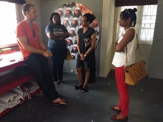 Artist Talk and Open Studios with Francois Beaurain and Nengi Omuku