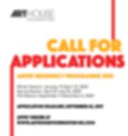 Call for Applications_Arthouse Foundatio
